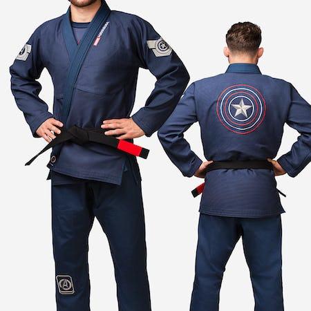 Hayabusa Captain America Jiu Jitsu Gi