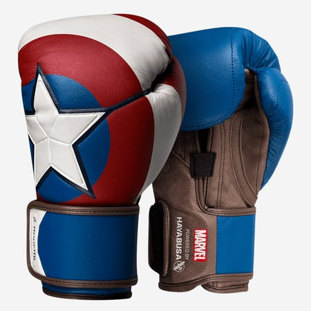 Hayabusa Captain America Boxing Gloves