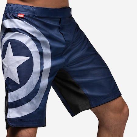 Hayabusa Captain America Fight Shorts
